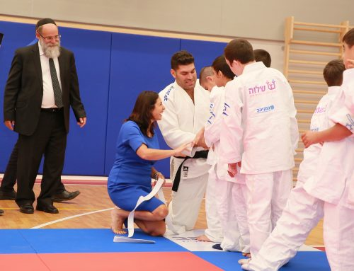 The Shalva Judo School Opens its Doors