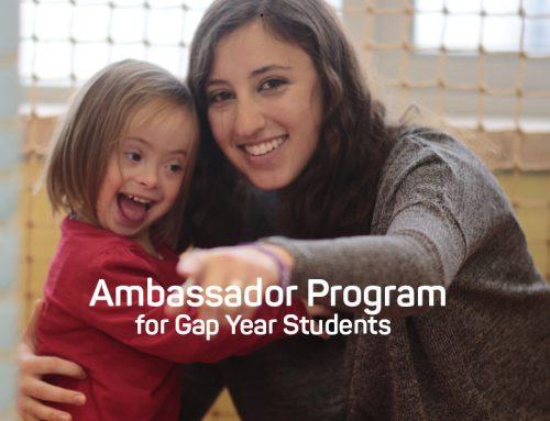 Ambassador Program for Gap Year Students