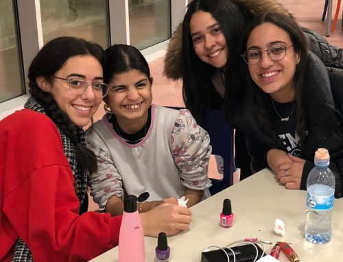Midreshet Eshel Hosts Spa Night for the Shalva Girls