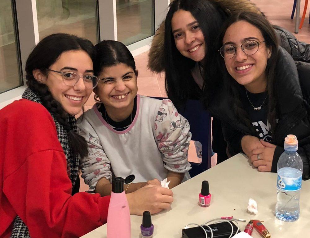 Midreshet Eshel Hosts Spa Night for the Shalva Girls