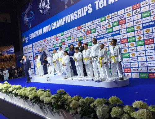 Shalva's Children Open the 2018 European Judo Championship