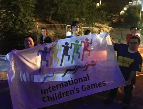 Shalva Represents Israel at International Children's Games