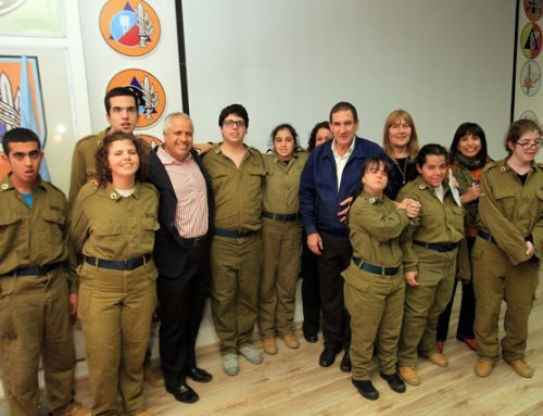 IDF and Shalva Join Forces