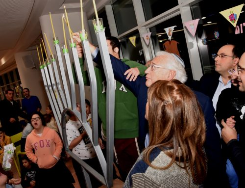 Ambassador David Friedman Celebrates Chanukah with Shalva's Children