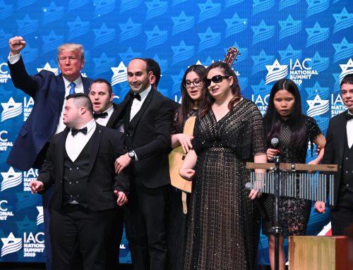Shalva Band at the IAC Convention